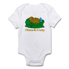 Potato Pancake Humor Infant Bodysuit