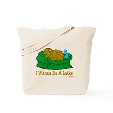 Potato Pancake Humor Tote Bag