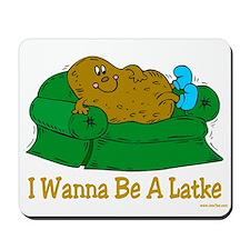 Potato Pancake Humor Mousepad