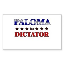 PALOMA for dictator Rectangle Decal