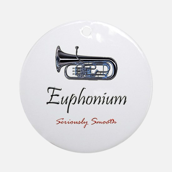 Euph Smooth Ornament (Round)