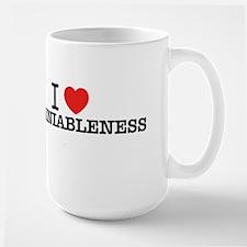 I Love UNDENIABLENESS Mugs