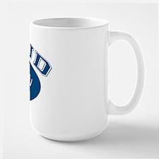 Proud Papa (blue) Mug