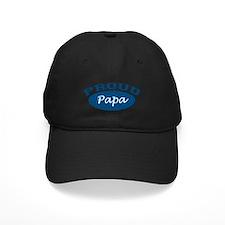Proud Papa (blue) Baseball Hat
