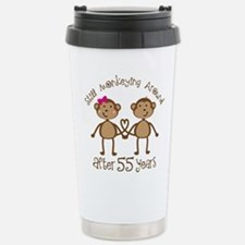Funny Monkey love Travel Mug