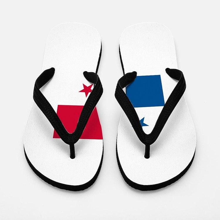 Flag of Panama Flip Flops