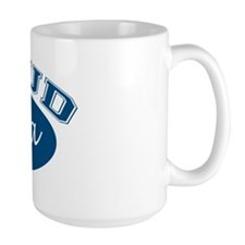 Proud Poppa (blue) Coffee Mug