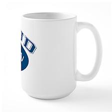 Proud Poppa (blue) Mug