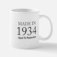 Made In 1934 Mugs
