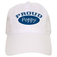 Proud Poppy (blue) Baseball Cap