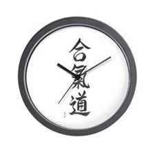 Aikido (VS4A) Wall Clock