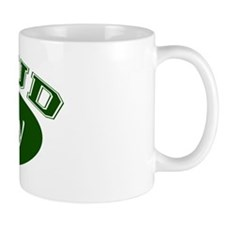 Proud Poppy (green) Mug