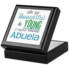 Beautiful and Young Abuela Keepsake Box