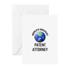 World's Greatest PATENT ATTORNEY Greeting Cards (P