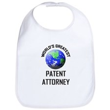 World's Greatest PATENT ATTORNEY Bib