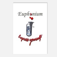 Euph Express Postcards (Package of 8)