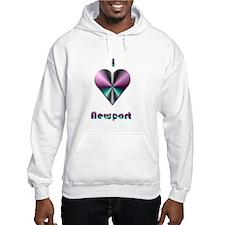 I Love Newport #2 Hoodie