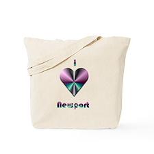 I Love Newport #2 Tote Bag
