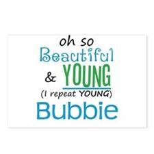 Beautiful and Young Bubbie Postcards (Package of 8