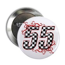 """RaceFashion.com 55 2.25"""" Button"""