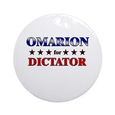 OMARION for dictator Ornament (Round)
