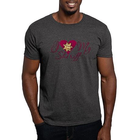 Love My Sheriff Dark T-Shirt