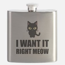 Right Meow Flask