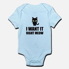 Right Meow Body Suit