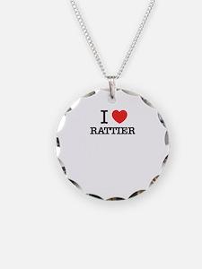 I Love RATTIER Necklace