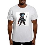 Chibi Nikisha Ash Grey T-Shirt