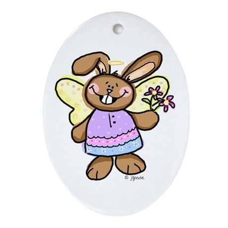 Easter Angel Keepsake (Oval)