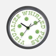 Visualize Whirled Peas Wall Clock
