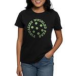 Visualize Whirled Peas Women's Dark T-Shirt