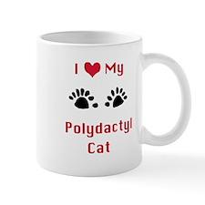 Cute Polydactyl cat Mug