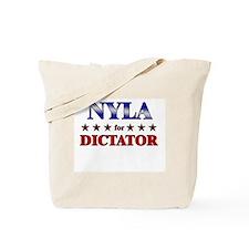 NYLA for dictator Tote Bag