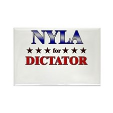 NYLA for dictator Rectangle Magnet