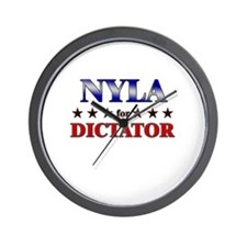 NYLA for dictator Wall Clock