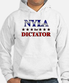 NYLA for dictator Hoodie Sweatshirt