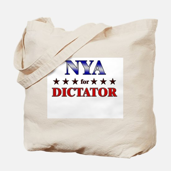 NYA for dictator Tote Bag