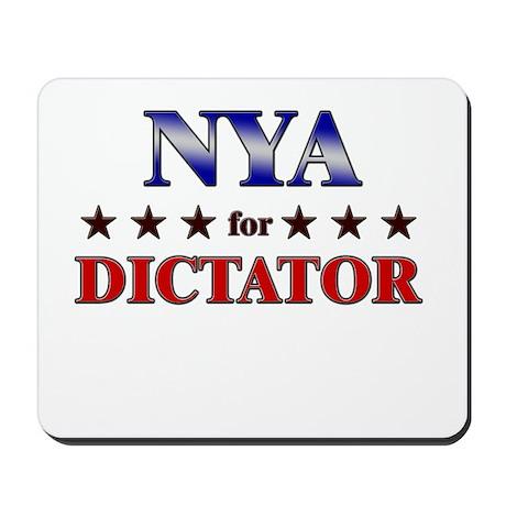 NYA for dictator Mousepad
