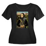 Mona / Greyhound(br) Women's Plus Size Scoop Neck