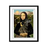 Mona / Greyhound(br) Framed Panel Print