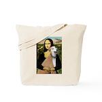 Mona / Greyhound (f) Tote Bag