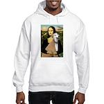 Mona / Greyhound (f) Hooded Sweatshirt