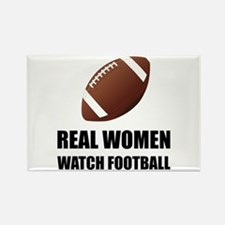Real Women Watch Football Magnets