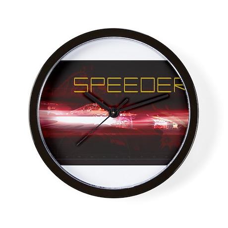 SPEEDER Wall Clock