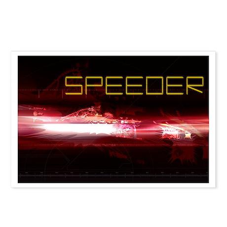 SPEEDER Postcards (Package of 8)