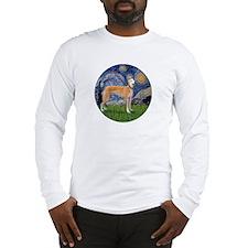 Starry / Greyhound (f) Long Sleeve T-Shirt