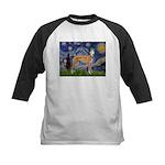 Starry / Greyhound (f) Kids Baseball Jersey