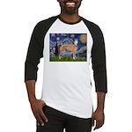 Starry / Greyhound (f) Baseball Jersey